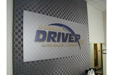 ACR054 - Custom Acrylic Display for Auto Dealerships & Services
