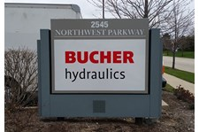 Indoor & Outdoor Business Signs for Bucher Hydraulics - Image360 South Elgin