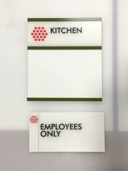 Acrylic Room Signs, ADA