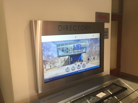 Directory and Wayfinding Signage